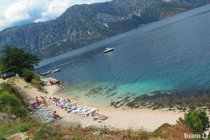 calas en la Bahía de Kotor, guía de Montenegro