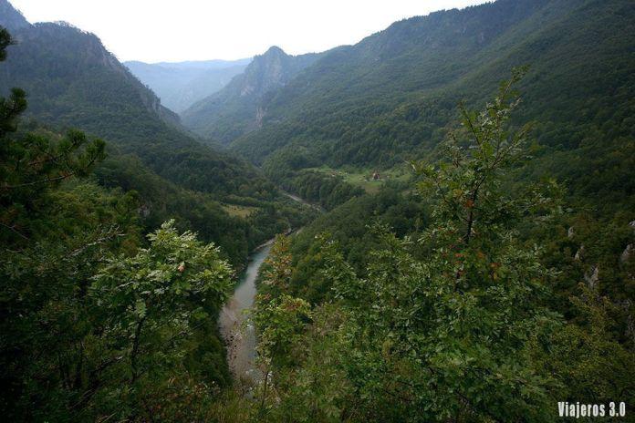 Vistas del río Tara