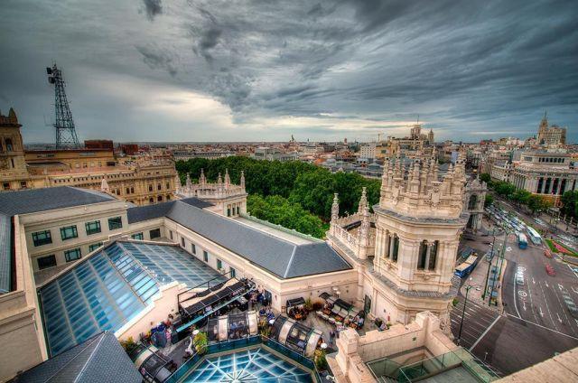 terraza de Cibeles, las mejores terrazas de Madrid