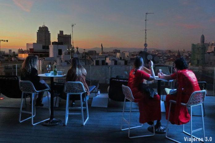 Las mejores terrazas de Madrid, Hotel Índigo.