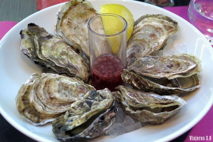 ostras en Cancale, ruta por la Bretaña francesa en 4 días