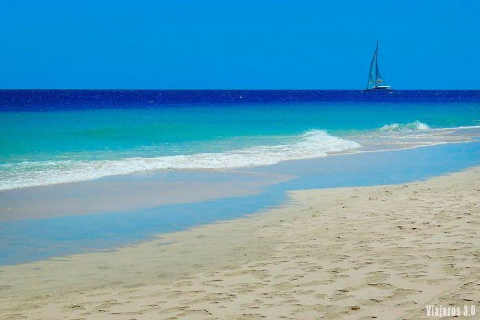 Excursión a Fuerteventura desde Lanzarote, playas del sur de la isla