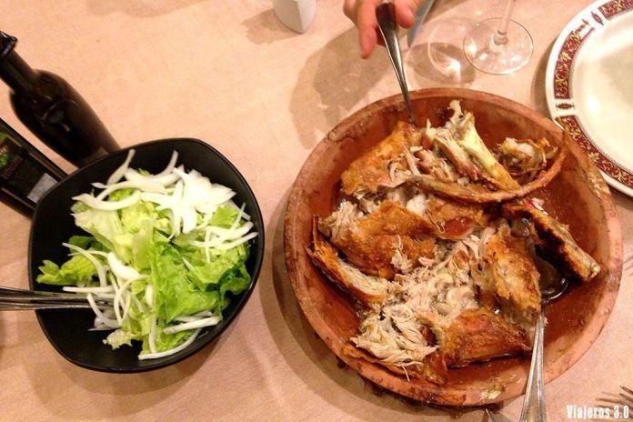 menú lechazo, donde comer lechazo asado en Burgos