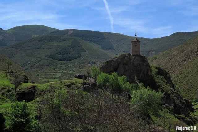 Torre del Reloj en Ventrosa, ruta por las 7 Villas