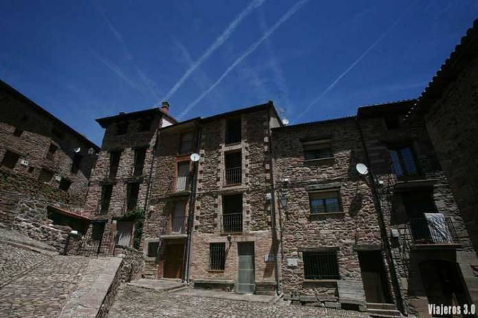 Arquitectura serrana en las 7 Villas, Sierra de la Demanda