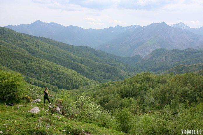 senderismo en el Valle de Sajambre en Picos de Europa