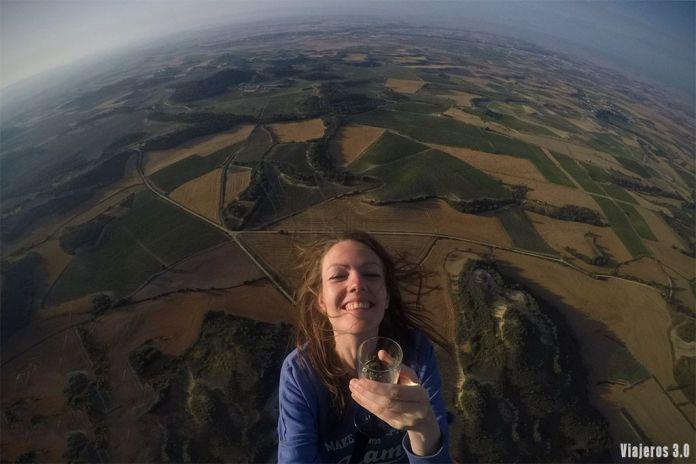 Volar en globo por La Rioja
