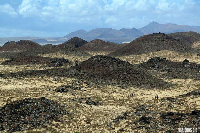 paisajes desde el faro de Martinho en la isla de Lobos