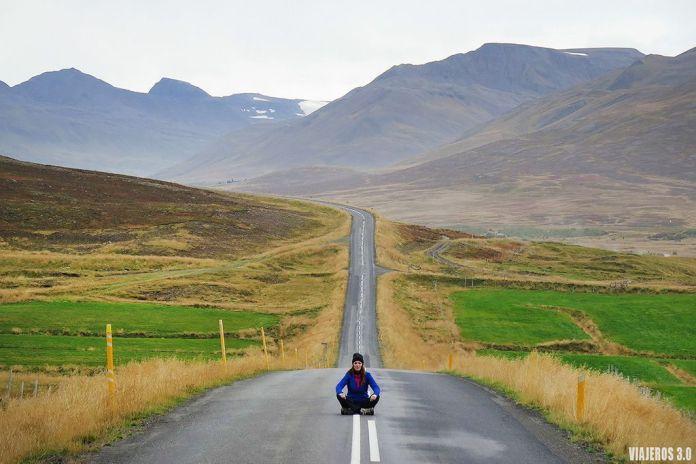 carreteras, alquiler de autocaravana o camper en Islandia
