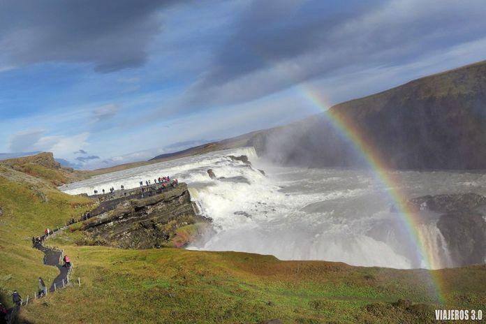 Las cascadas más bonitas de Islandia, Gullfoss