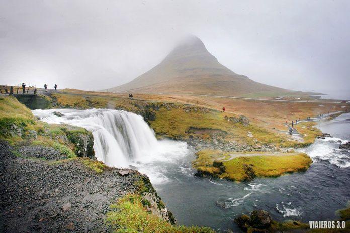 Kirkjufellfoss, ruta por Islandia