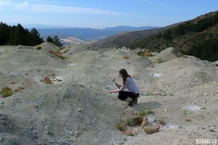 piritas en el yacimiento de Navajún