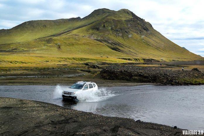 4x4 en ruta por Islandia