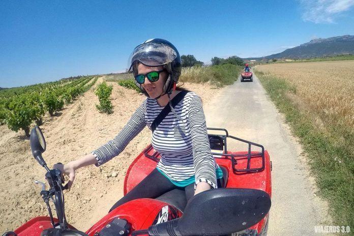 quad, actividades de enoturismo en La Rioja