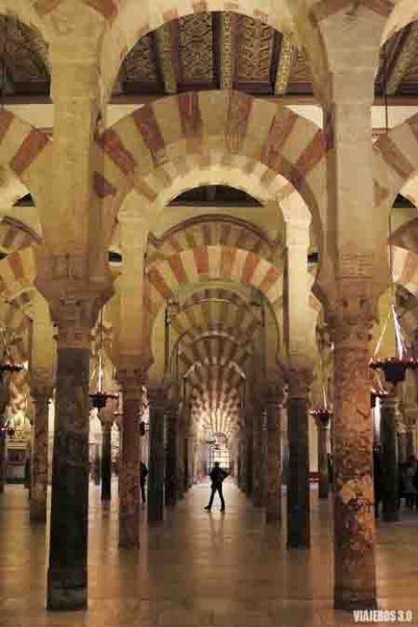 Mezquita de Córdoba, uno de los mejores monumentos de España.