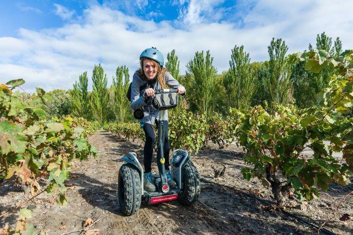 segway, actividades de enoturismo en La Rioja