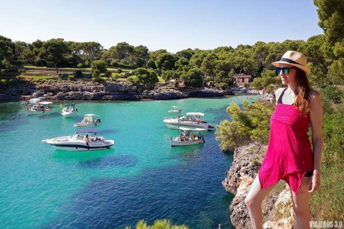Cala Mitjana, ruta por Mallorca en una semana