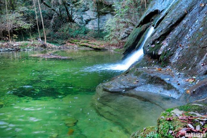 Cascadas de Irús en el Valle de Mena