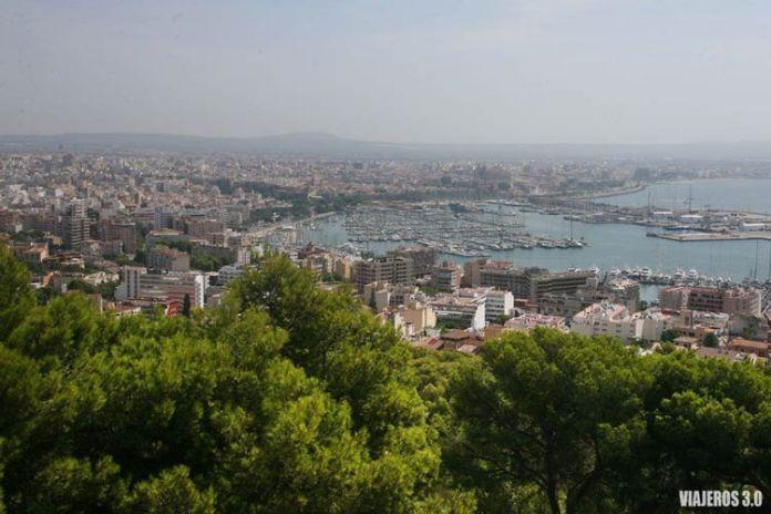 Panorámica de Palma de Mallorca, ruta por Mallorca en una semana