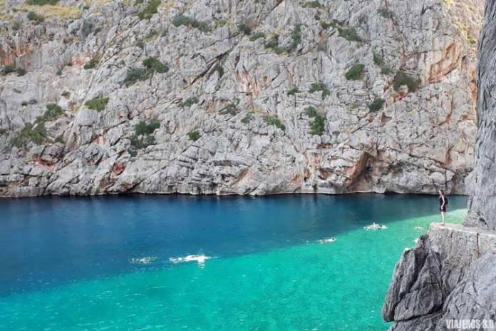 Sa Calobra, donde ver el atardecer en Mallorca