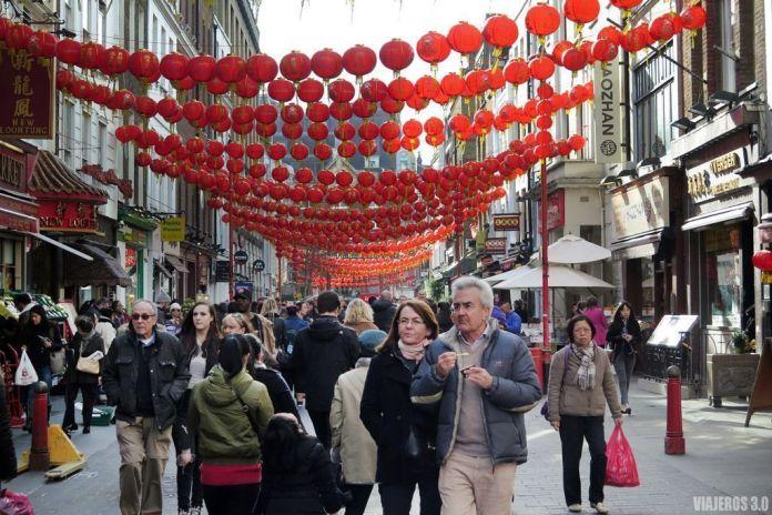 Que ver en Londres, China Town