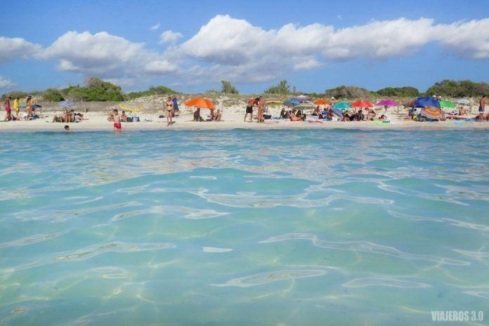 Playa de Es Trenc, planes que hacer en Mallorca.