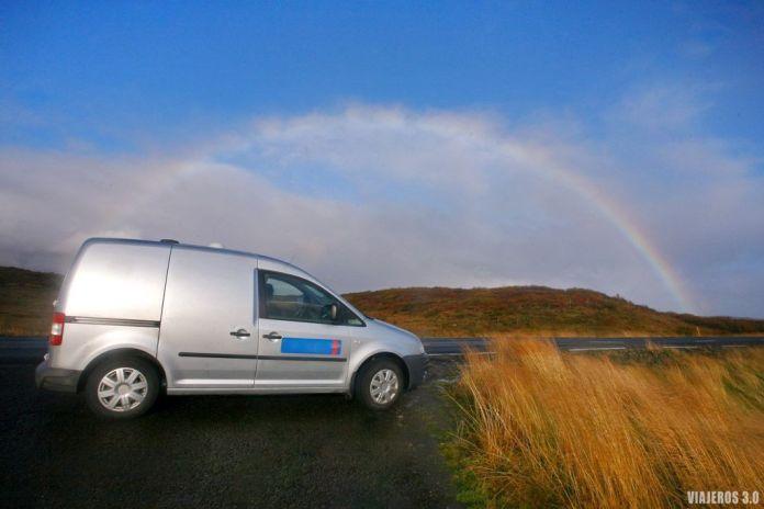 Viajando en camper por Islandia
