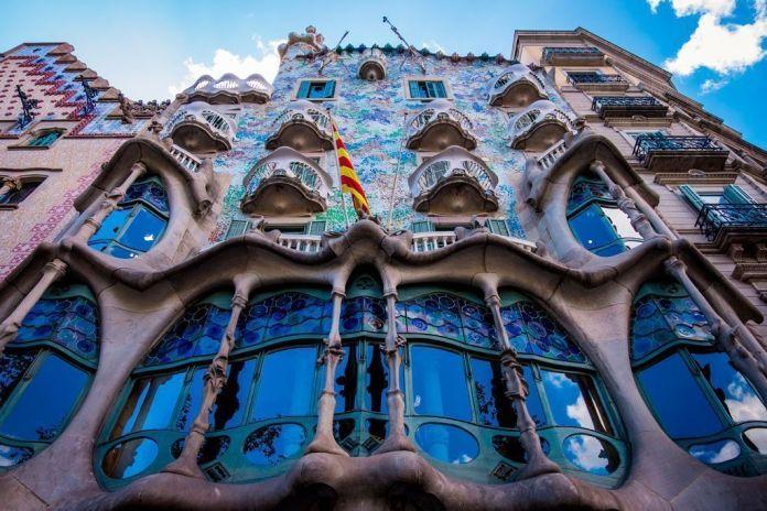Casa Batlló, ruta del modernismo en Barcelona