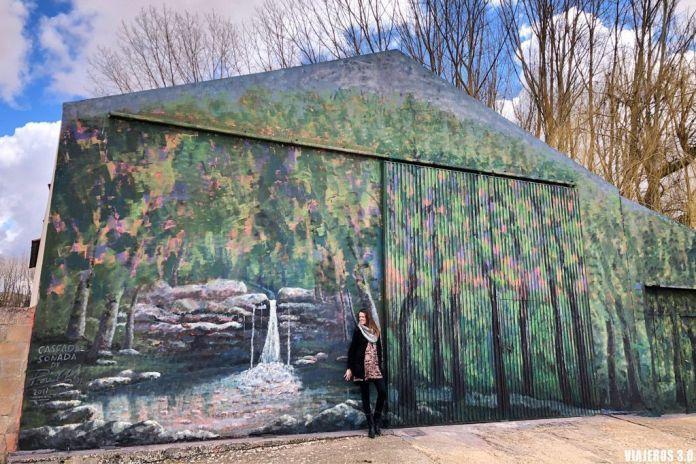 Murales de Tubilla del Lago, que ver en la Ribera del Duero burgalesa