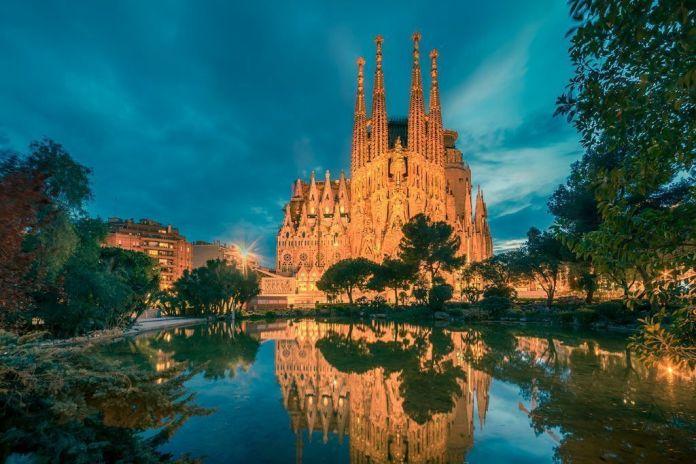 Monumentos de España, la Sagrada Familia.