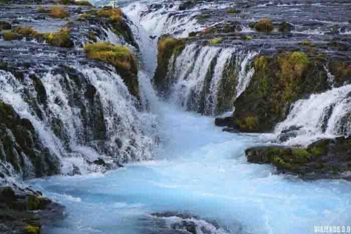 Ruta del Círculo Dorado en Islandia, Bruarfoss
