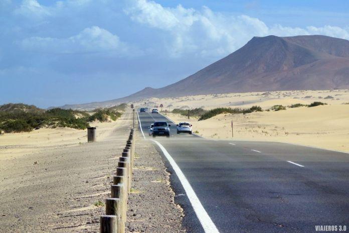 Excursión a Fuerteventura desde Lanzarote, dunas de Corralejo