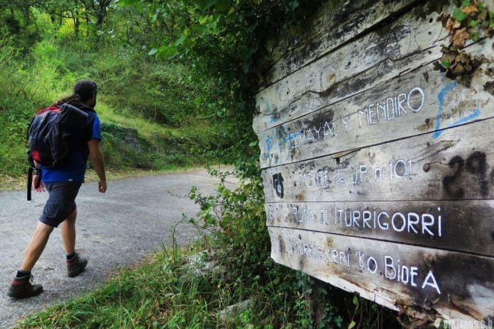 Ruta de senderismo al pico Tologorri