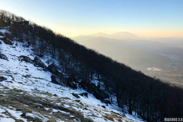 Itinerario de los Montañeros en la Sierra de Urbasa