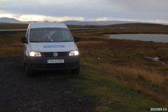 Alquiler de camper en Islandia, dónde pasar la noche