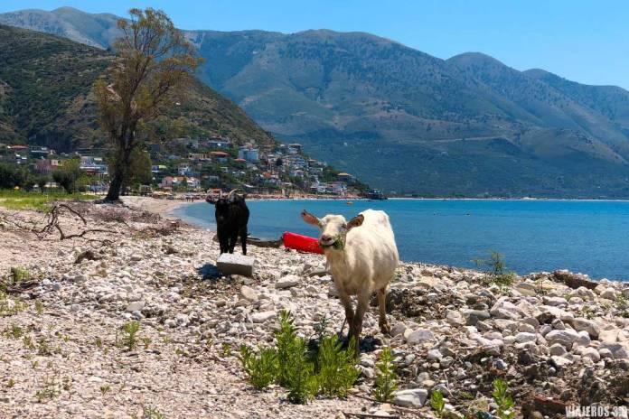 Borsh, las mejores calas y playas de Albania
