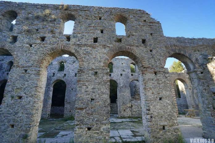 Centro arqueológico de Butrinto.