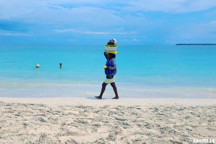 Playa Blanca, excursión desde Cartagena de Indias.