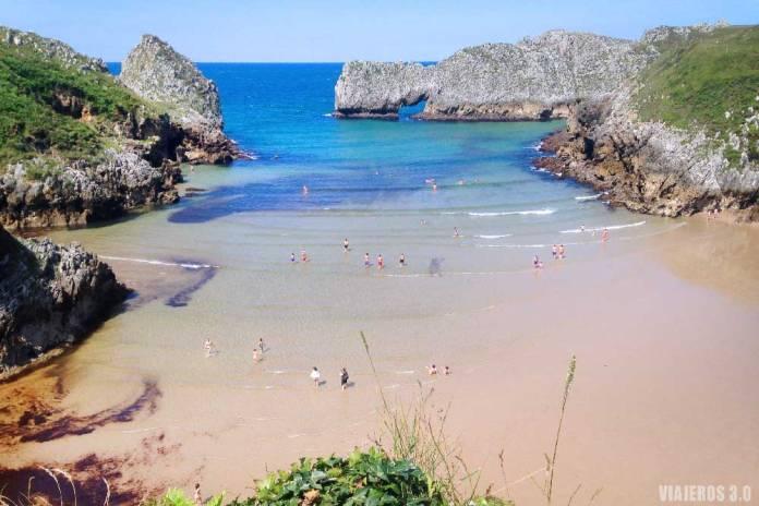 Playa de Berellín, que ver en Cantabria