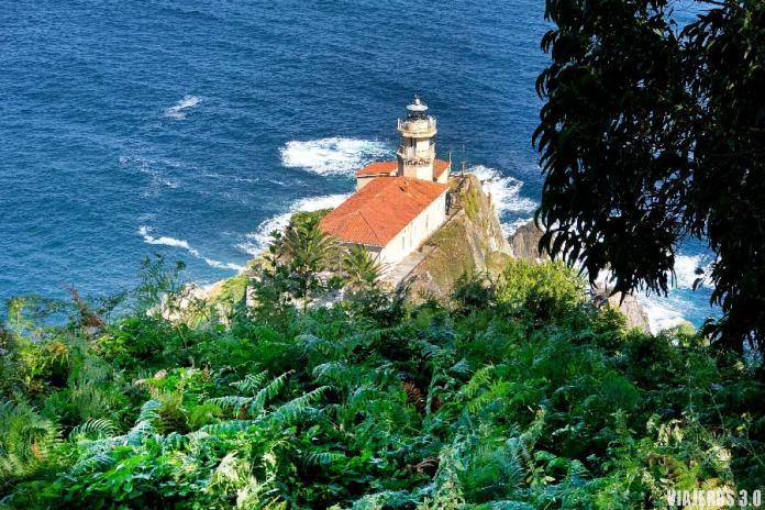 Faro de Cudillero, el pueblo más bonito de Asturias.