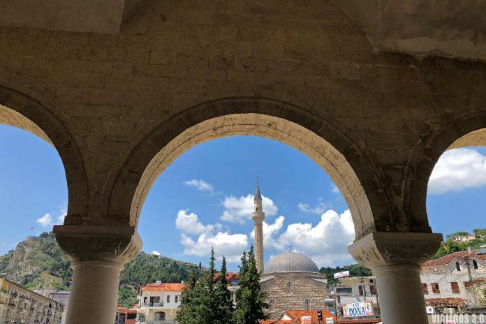 Centro histórico de Berat.