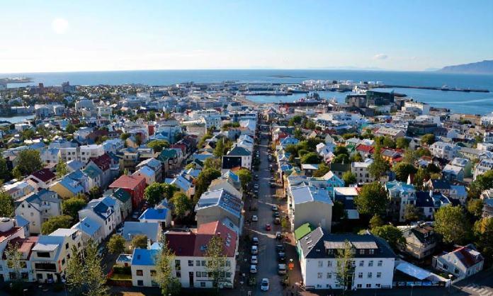 Vistas panorámicas, que ver en Reikiavik en 1 días