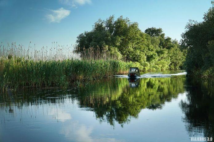 Que ver en el Delta del Danubio, canales navegables