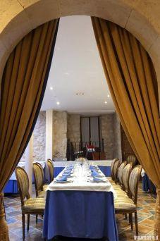 Restaurante del Castillo de Curiel, dormir en un castillo de Valladolid