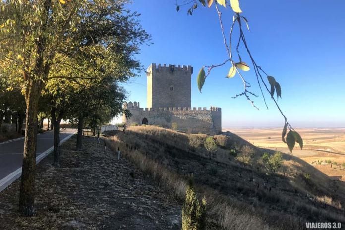 Ruta por los Castillos de Valladolid, Castillo de Tiedra.