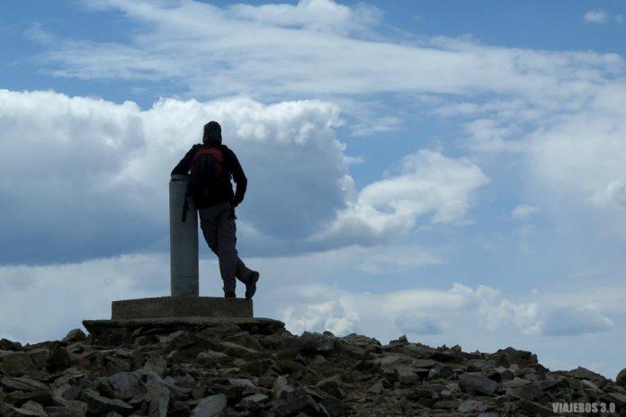 Cima del pico San Lorenzo, la más alta de La Rioja