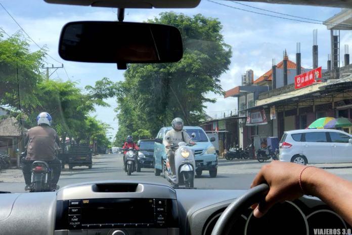 conducir por Bali