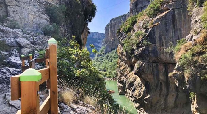 Ruta por la Foz de Lumbier en Navarra
