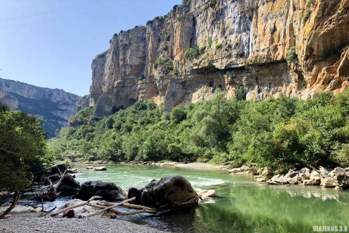 Río Irati, ruta por la Foz de Lumbier