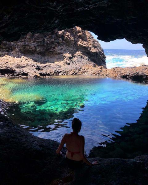 Las mejores piscinas naturales y playas de El Hierro, el charco Azul